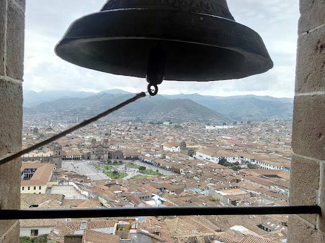 Vista de Cuzco desde la iglesia de San Crstobal