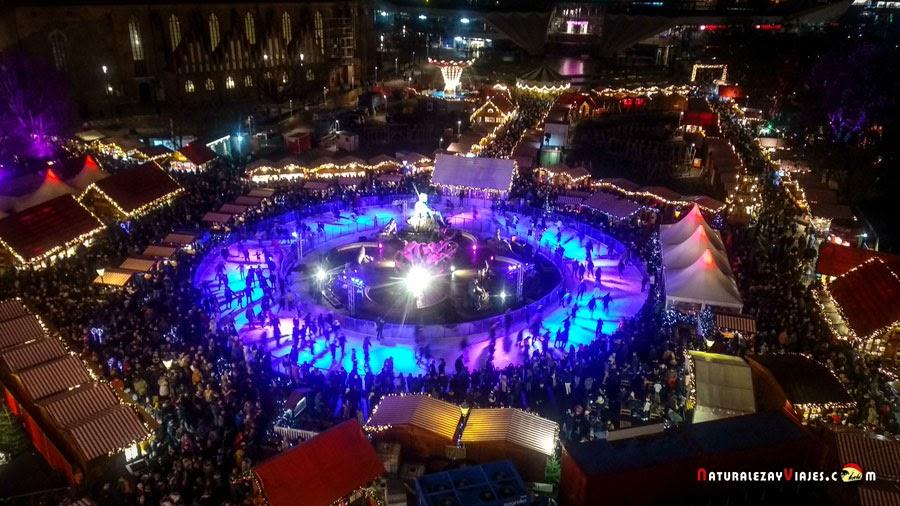 Mercado de navidad en Berlín