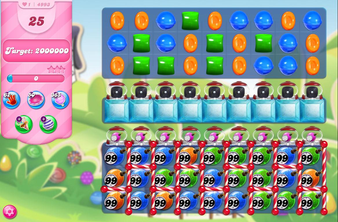 Candy Crush Saga level 4993