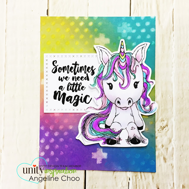 ScrappyScrappy: [NEW VIDEO] Cyber Monday with Unity Stamp #scrappyscrappy #unitystampco #card #cardmaking #papercraft #stamp #stamping #quicktipvideo #youtube #video #timholtz #cuddlebug #tierrajackson #unicorn #distressoxide #oxideink #rainbow #wrmk #stencil #katscrappiness #katscrappinessdie #copicmarkers