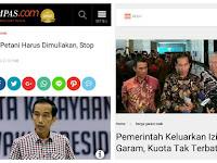 """Saat Pilpres: """"Petani Harus Dimuliakan, Stop Impor!""""; Usai Jadi Presiden Jor-Joran Impor"""