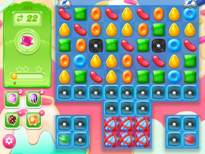 Candy Crush Jelly Saga saga 495