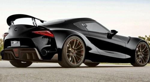 Toyota Mirai Black Sports Concept 2016