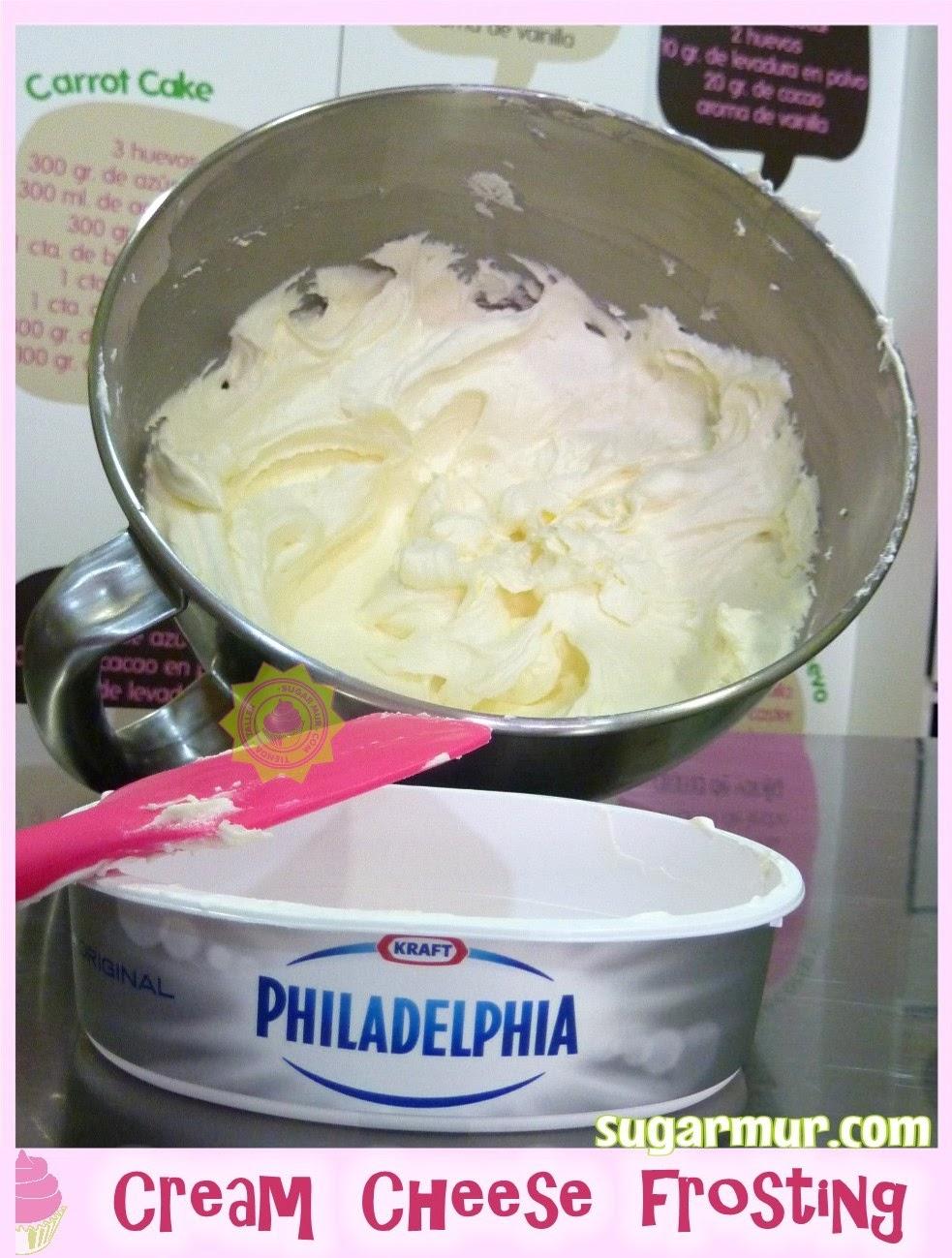 Cream cheese frosting | Sugar Mur