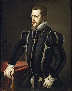 ティツィアーノ、フェリペ2世の肖像、プラド