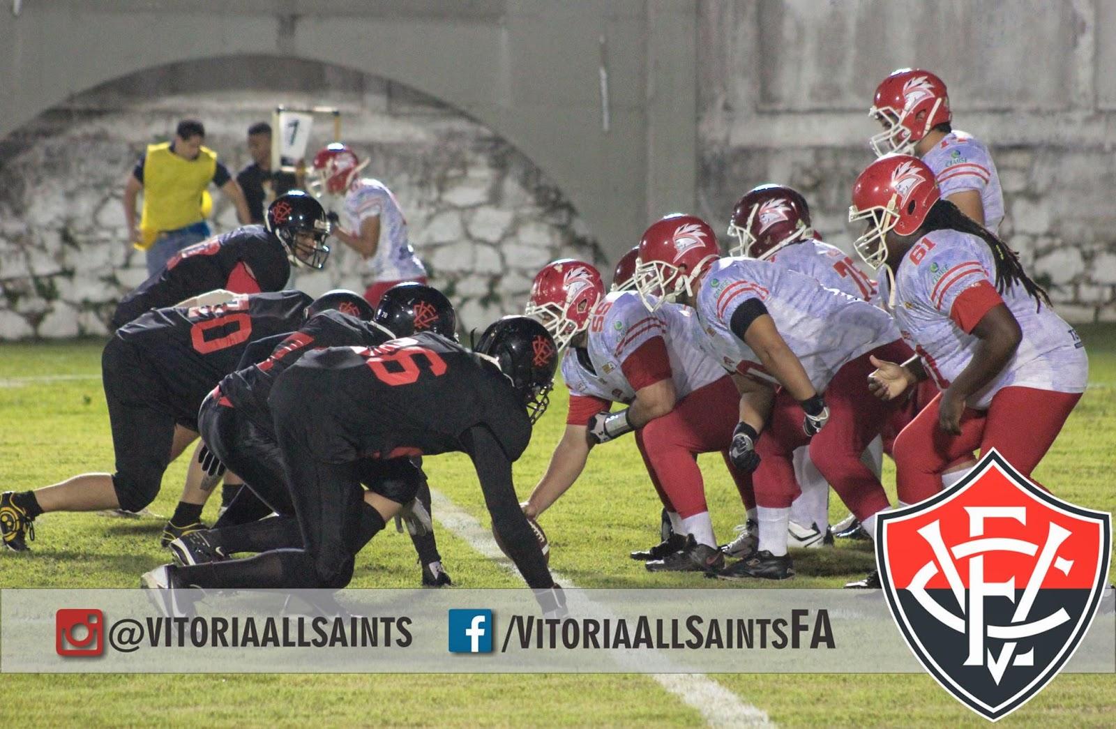FUTEBOL AMERICANO  Vitória All Saints perde na estreia da Superliga  Nordeste 55ee6c232c44c