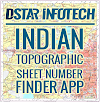 Indian Topographic Sheet Number and UTM Zone Finder Application