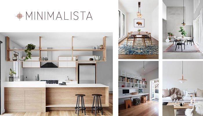 minimalismo minimalista estilo decoración