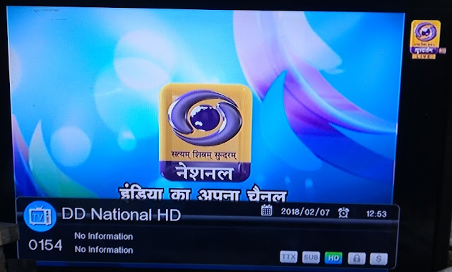 DD National HD channel now available on DD Direct Plus DTH