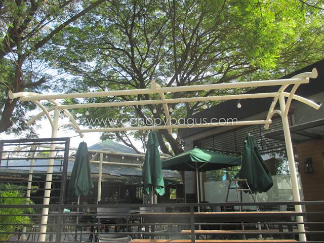 tenda membrane taman