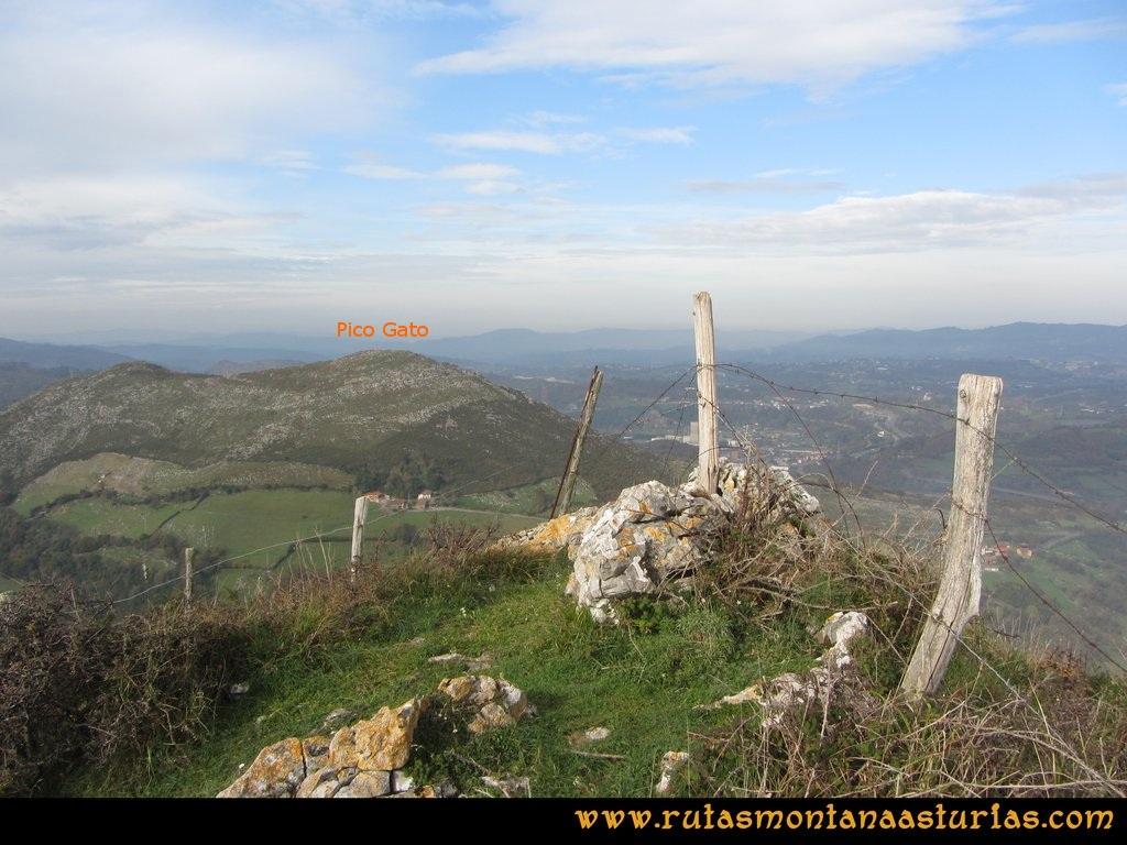 Ruta Baiña, Magarrón, Bustiello, Castiello. Pico Bustiello