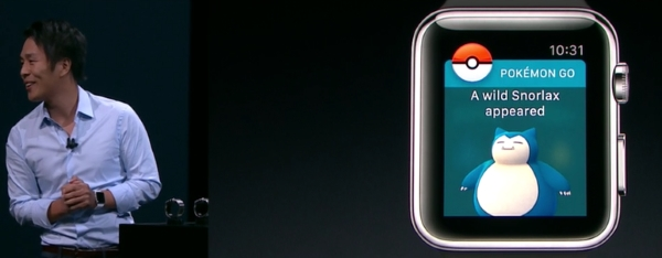 Pokémon Go su Apple Watch HTNovo