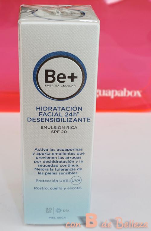Hidratación facial 24h Desensibilizante de Be +