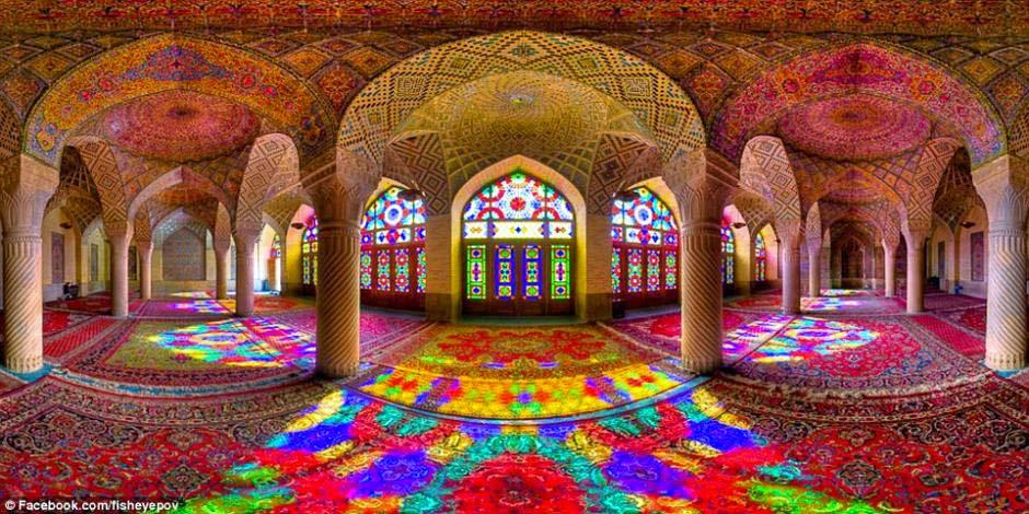 Iran: Wunderschöne Kaleidoskop Bilder einer Moschee | Gerrys
