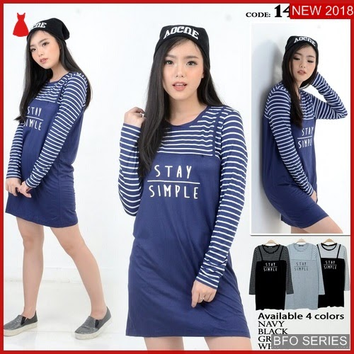 BFO157B186 STAY Model SIMPLE DRESS Jaman Now 1429 BMGShop