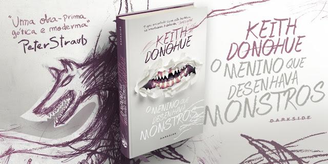 O menino que desenhava monstros | Keith Donohue