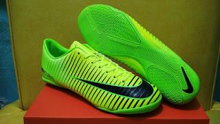 Sepatu Futsal Nike Mercurial Vapor XI Hijau