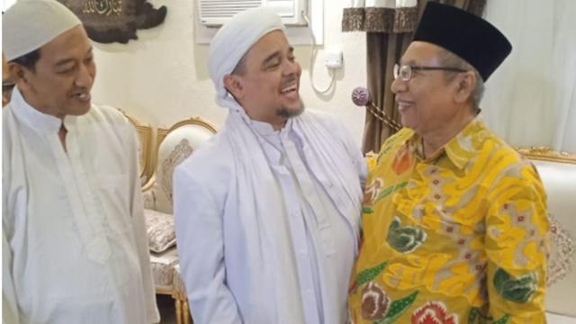 Keluarga Besar Pendiri NU Temui Habib Rizieq, Siap Menangkan Prabowo-Sandi