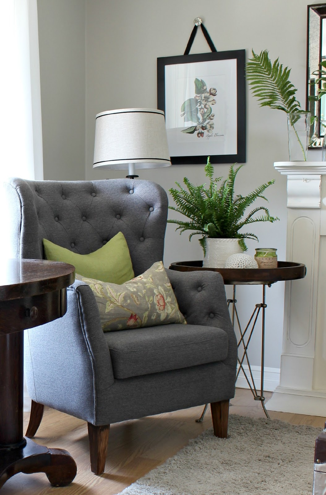 a brighter look with an white ikea ektorp sofa hymns and. Black Bedroom Furniture Sets. Home Design Ideas