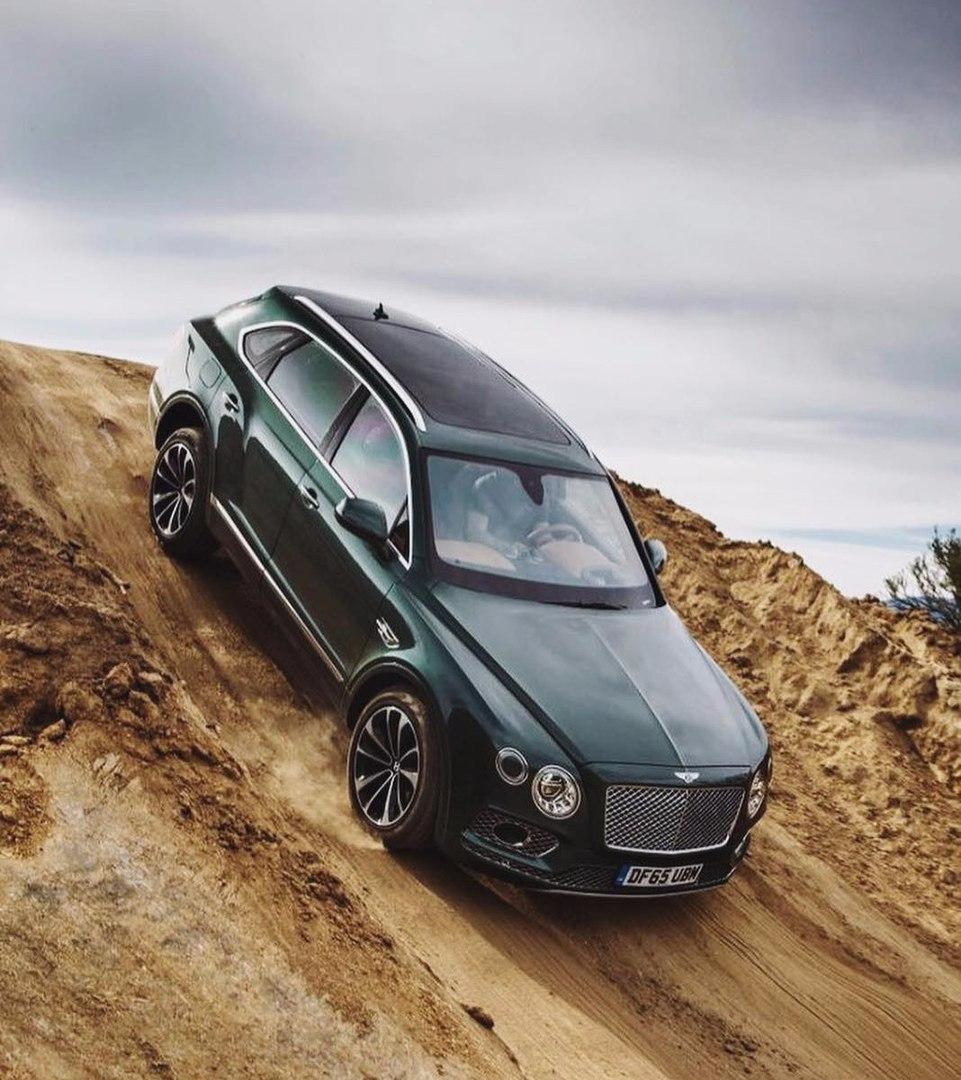 Bentley Bentayga, first luxury SUV
