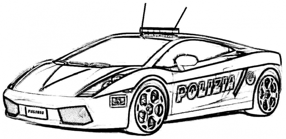 police car coloring pages getcoloringpagescom - 1233×600