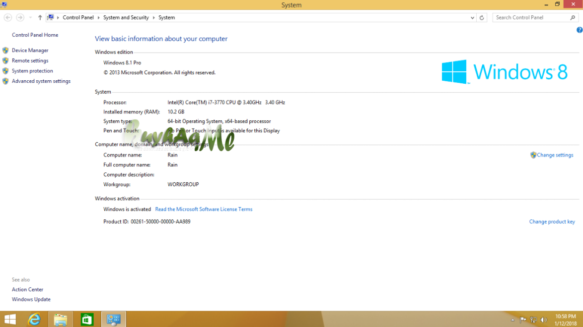 Windows 8.1 Pro Vl Update 3
