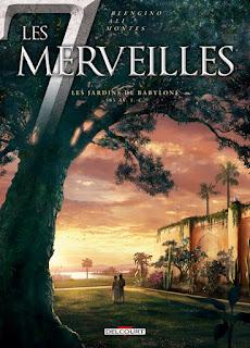 Les 7 merveilles, tome 2, les Jardins de Babylone de Luca Blengino et Roberto Ali , Delcourt