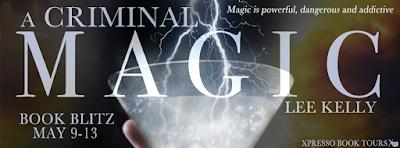 A Criminal Magic Book Blitz banner