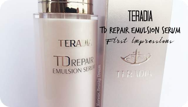 Teradia TD Repair Emulsion Serum review