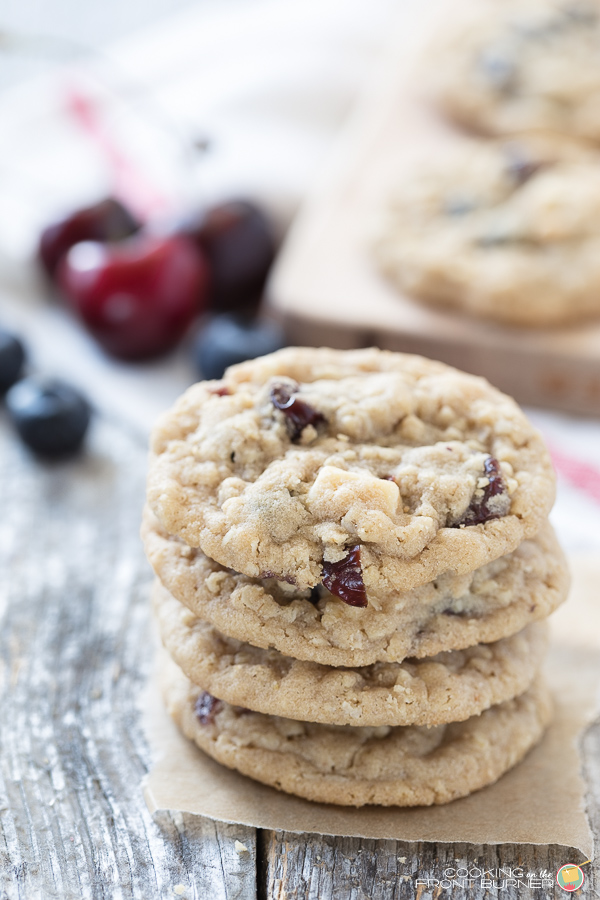 Fruity Oatmeal Cookies | Cooking on the Front Burner