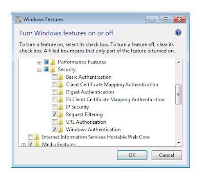 windows feature authentication