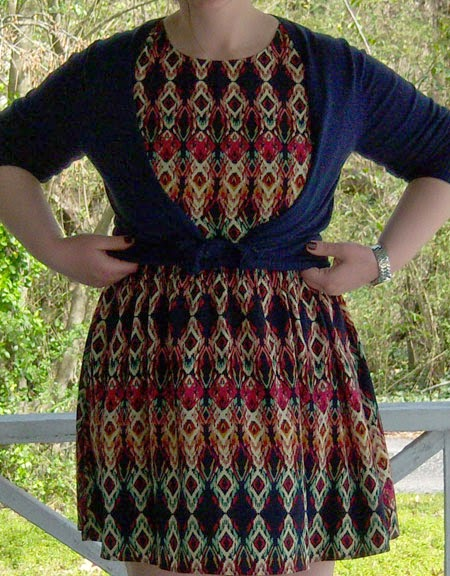 Ikat Dress Share From My 3rd Stitch Fix Box