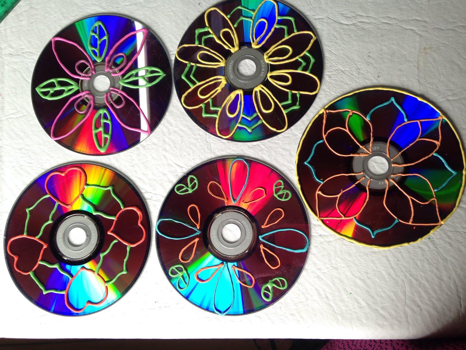 o hacer Adornos de Jard n Reciclando CD s Disfruta Creando