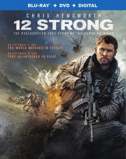 12 Strong 2018 Eng BRRip 480p 200mb ESub HEVC x265