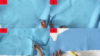 Cara Membuat Bantal dari Kain Flanel Sederhana