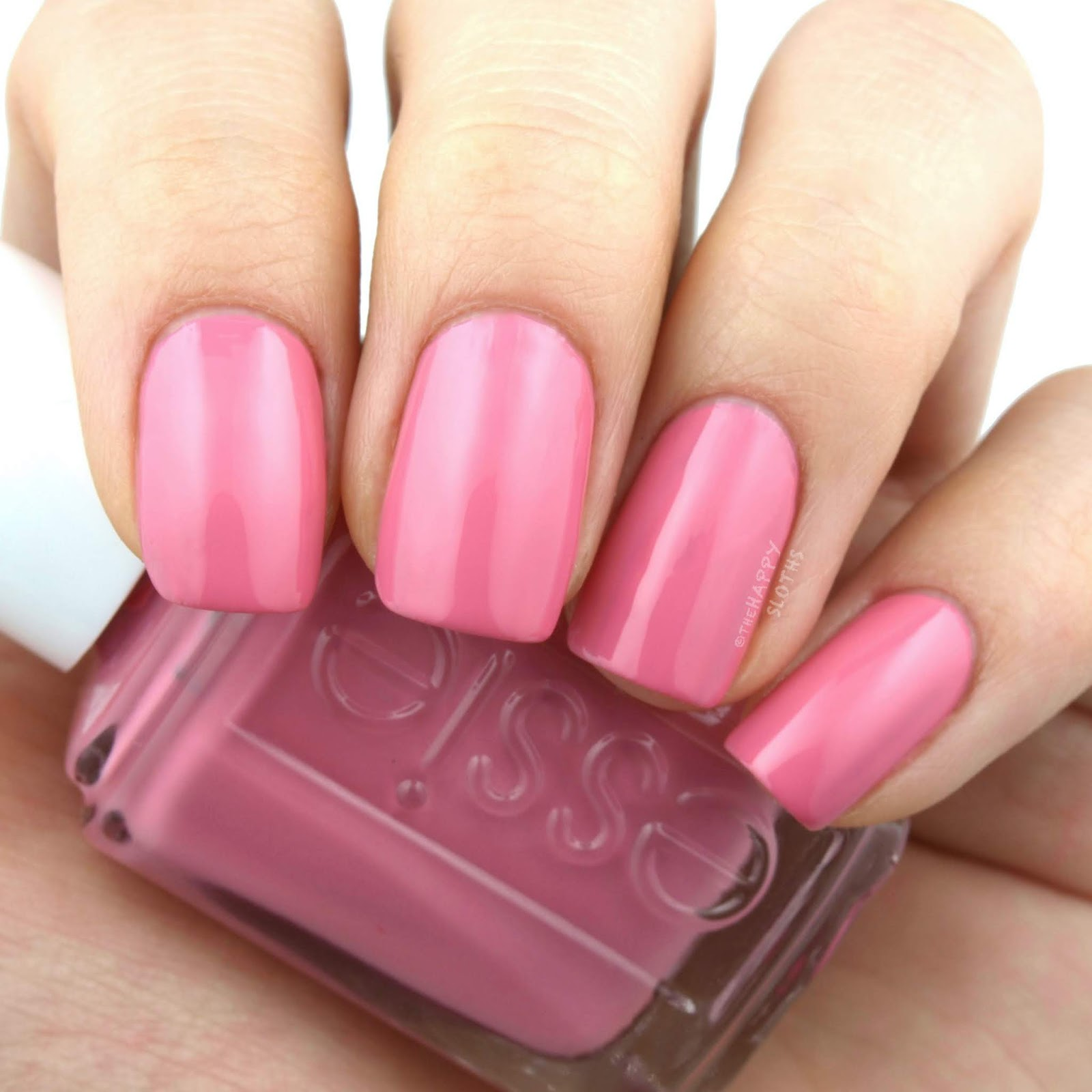 "Essie | Soda Pop Shop Collection in ""Pin Me Pink"": Review and Swatches"