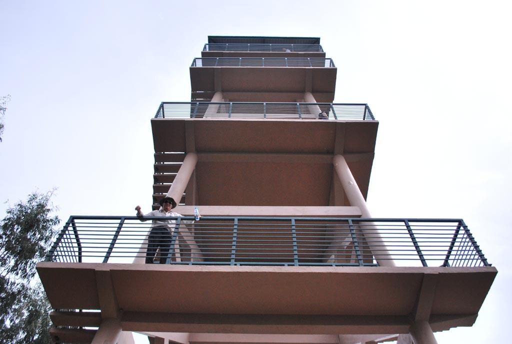 Tháp quan sát toàn cảnh khu vực Rừng Tràm Trà Sư