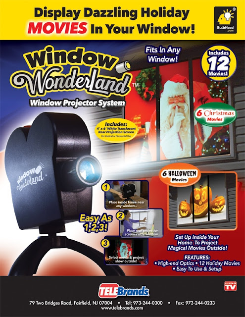 holiday Projector for window
