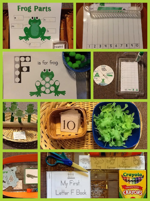 Preschool Pizzazz - F is for Frog