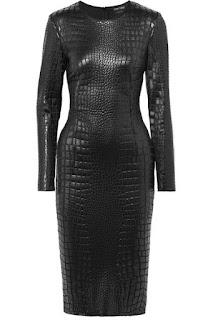 Tom ford crocodile black dress