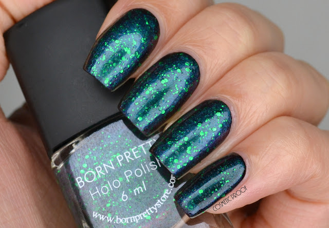 Born Pretty Chameleon Duochrome Nail Polish Swatch