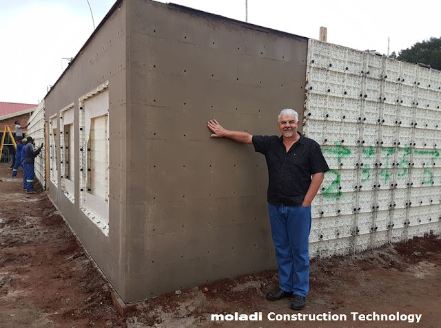Brick and Mortar vs. Injection Moulded Construction System - moladi