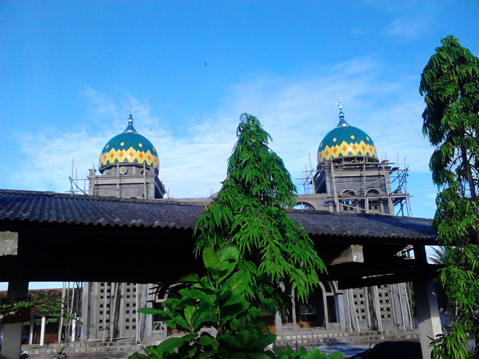 Kubah Masjid menarik