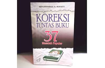 Koreksi Tuntas Buku 37 Masalah Populer
