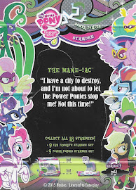 My Little Pony The Mane-iac Series 3 Trading Card