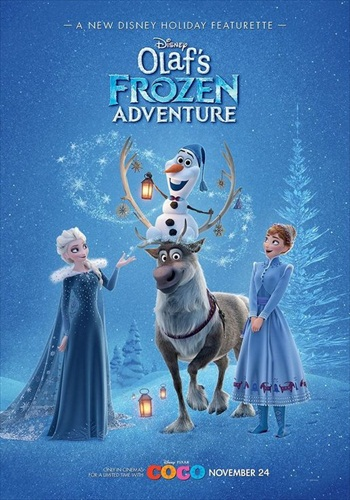 Olaf's Frozen Adventure 2017 Dual Audio Full Movie