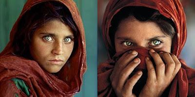 الحسناء الأفغانية اللاجئة ذات العيون الساحرة التي لن ينساها العالم حتى اليوم ؟!