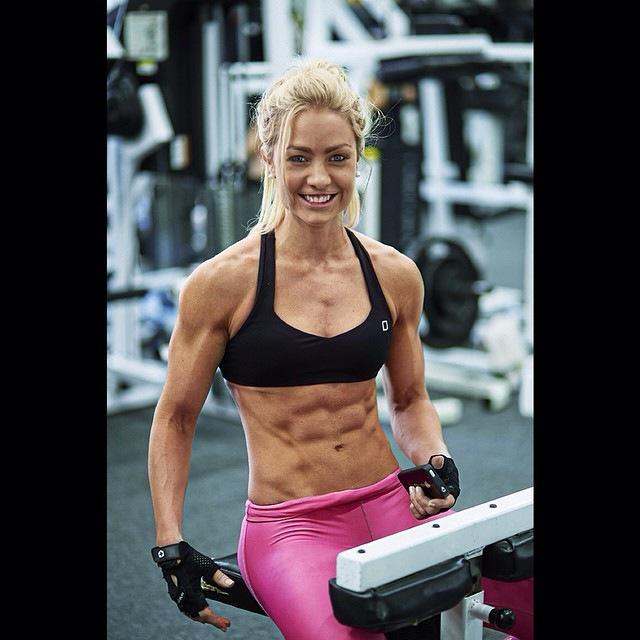 Australian Fitness girl Zoë Daly
