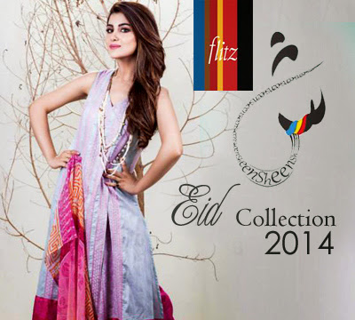 Sheen Eid Collection 2014 By Flitz Fashion