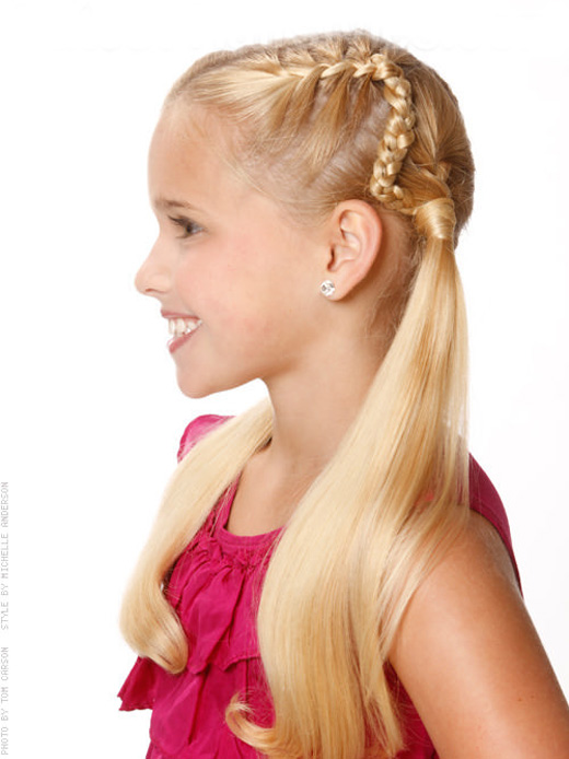 Best Top 10 Fresh Child Girls Hairstyles Forever Fashion